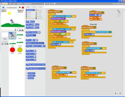 uno screenshot di Scratch